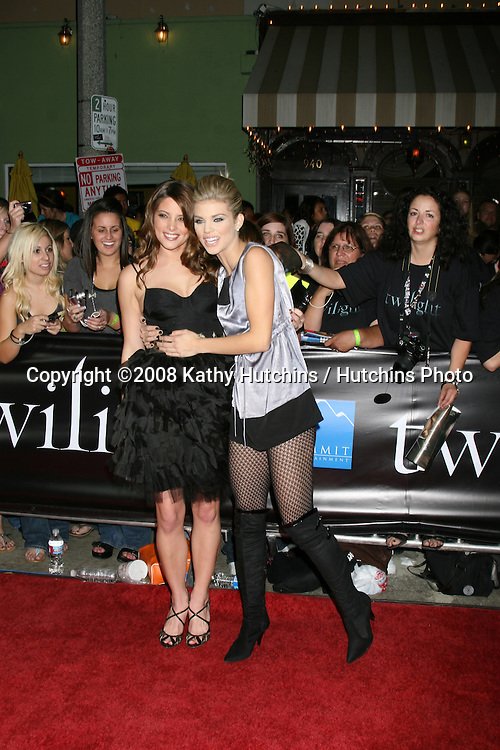 "Ashley Greene & AnnaLynne McCord arriving to the World Premiere of ""Twilight"" at Mann's Village Theater in Westwood, CA.November 17, 2008.©2008 Kathy Hutchins / Hutchins Photo...."