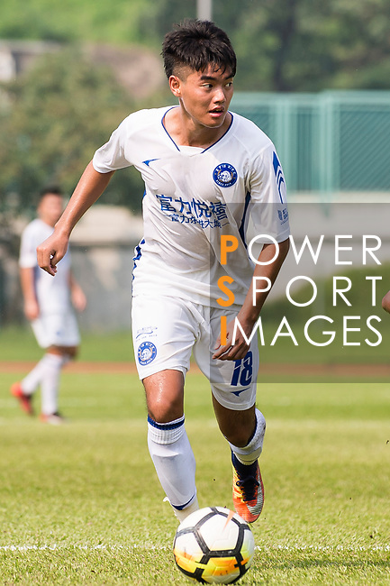 Yongfeng Liang R&F F.C in action during the week three Premier League match between Kwoon Chung Southern and R&F at Aberdeen Sports Ground on September 16, 2017 in Hong Kong, China. Photo by Marcio Rodrigo Machado / Power Sport Images