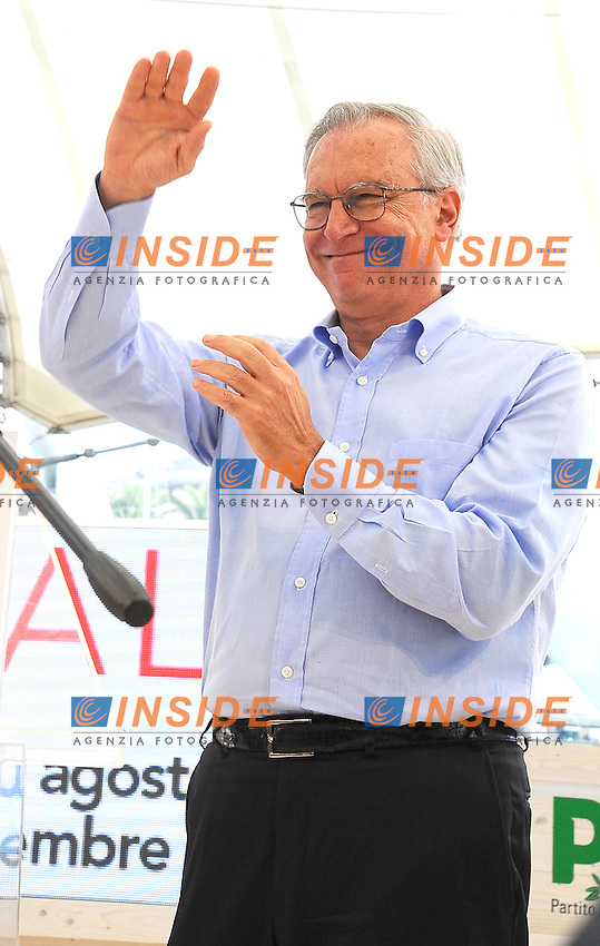 Guglielmo Epifani Segretario PD <br /> Democratic Party Secretary Guglielmo Epifani <br /> Genova 07-09-2013 Festa Nazionale Partito Democratico <br /> Democratic Party National Meeting <br /> Photo  Genova Foto /Insidefoto