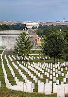 Lincoln Memorial from Arlington Cemetery