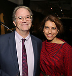 Douglas Aibel and Sarah Stern attends the Vineyard Theatre Paula Vogel Playwriting Award honoring Jeremy O. Harris on October 12, 2018 at the National Arts Club in New York City.