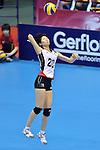 Aimi Kawashima (JPN),<br /> AUGUST 17, 2013 - Volleyball :<br /> 2013 FIVB World Grand Prix, Preliminary Round Week 3 Pool M match Japan 1-3 United States at Sendai Gymnasium in Sendai, Miyagi, Japan. (Photo by Ryu Makino/AFLO)