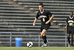 22 August 2008: Wake Forest's Sam Cronin. The Wake Forest University Demon Deacons defeated the Virginia Commonwealth University Rams 2-1 at Fetzer Field in Chapel Hill, North Carolina in an NCAA Division I Men's college soccer game.