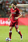 Liverpool FC midfielder Adam Lallana in action during the Premier League Asia Trophy match between Liverpool FC and Leicester City FC at Hong Kong Stadium on 22 July 2017, in Hong Kong, China. Photo by Weixiang Lim / Power Sport Images