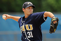 11 May 2008: Florida International starting pitcher Eric Horstmann (31) throws in the FIU 7-4 victory over South Alabama at University Park Stadium in Miami, Florida.