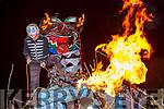 Firestarter Hannes Jung at Knocknagoshel Halloween festival on Sunday night
