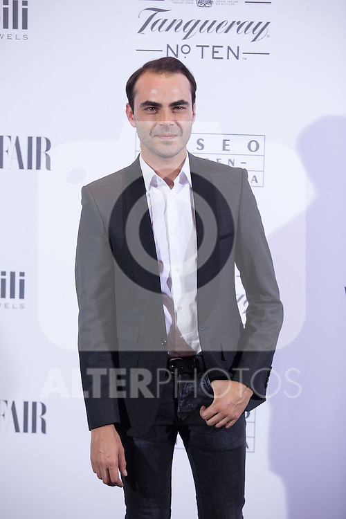 Ion Fiz poses during the 'HUBERT DE GIVENCHY' exhibition inauguration at THYSSEN-BORNEMISZA museum in Madrid, Spain. October 20, 2014. (ALTERPHOTOS/Victor Blanco)