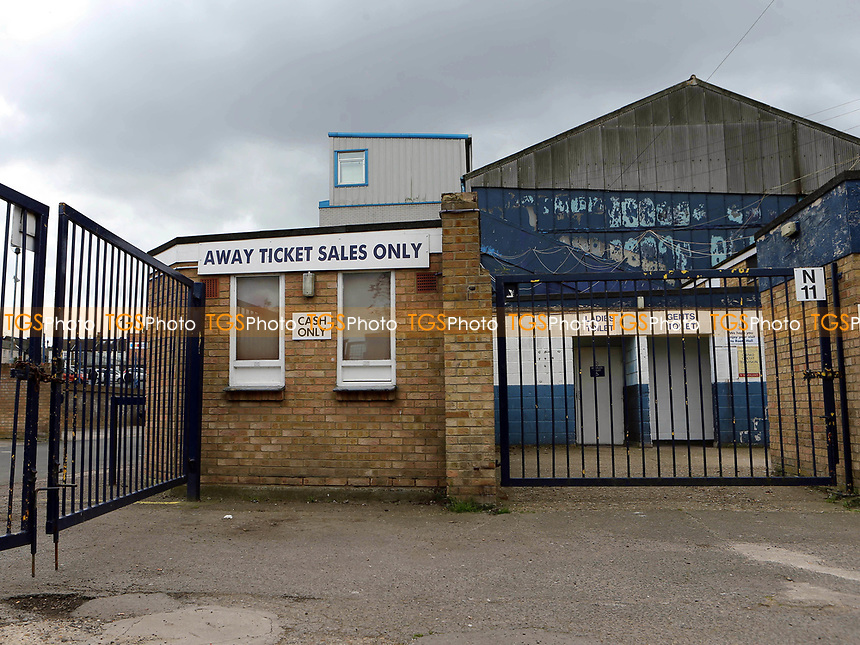 General view of the Away Ticket Sales area at Roots Hall during Southend United vs MK Dons, Sky Bet EFL League 1 Football at Roots Hall on 17th April 2017