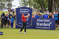 Sean Crocker (USA) on the 2nd during Round 4 of the Aberdeen Standard Investments Scottish Open 2019 at The Renaissance Club, North Berwick, Scotland on Sunday 14th July 2019.<br /> Picture:  Thos Caffrey / Golffile<br /> <br /> All photos usage must carry mandatory copyright credit (© Golffile | Thos Caffrey)