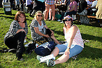 03/09/2013 – Laytown Races – (L-R) Jean Nugent, Brenda Tuite and Babs Campbell. www.newsfile.ie