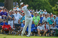 Adrian Otaegui (ESP) watches his tee shot on 6 during 4th round of the 100th PGA Championship at Bellerive Country Club, St. Louis, Missouri. 8/12/2018.<br /> Picture: Golffile   Ken Murray<br /> <br /> All photo usage must carry mandatory copyright credit (© Golffile   Ken Murray)