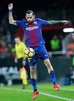 FC Barcelona's Aleix Vidal during La Liga match. November 26,2017.  *** Local Caption *** © pixathlon +++ tel. +49 - (040) - 22 63 02 60 - mail: info@pixathlon.de