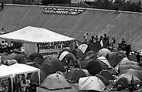 Genova 19 Luglio 2001.G8.Stadio Carlini,Disobbedienti