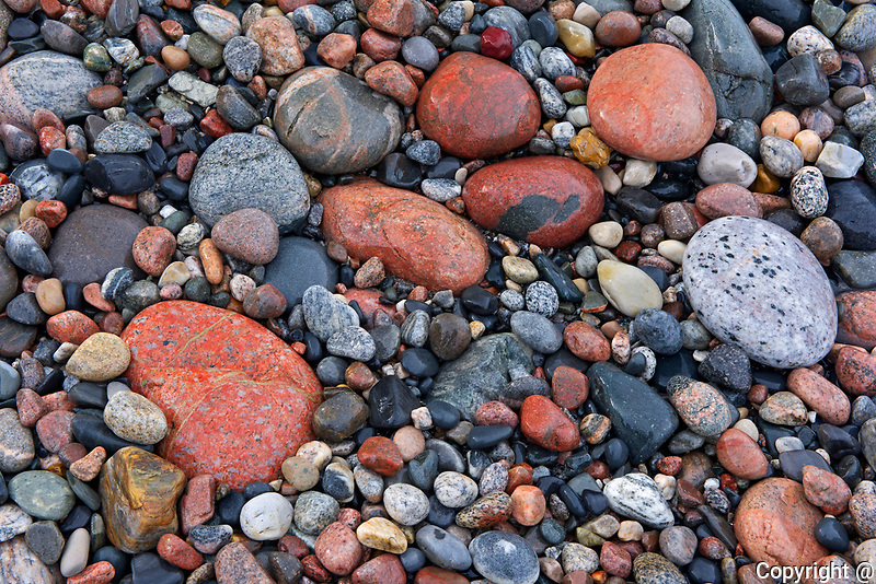 Rocks on Pebble Beach<br />