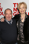 Michael Tucker and Jill Eikenberry attend the opening night party for the New Group Production of Wallace Shawn's  'Evening at the Talk House' at Green Fig Urban Eatery on February 16, 2017 in New York City. attends the opening night party for the New Group Production of Wallace Shawn's  'Evening at the Talk House' at Green Fig Urban Eatery on 2/16/2017 in New York City.