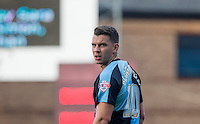 Matthew Bloomfield of Wycombe Wanderers during the Sky Bet League 2 match between Wycombe Wanderers and Northampton Town at Adams Park, High Wycombe, England on 3 October 2015. Photo by Andy Rowland.