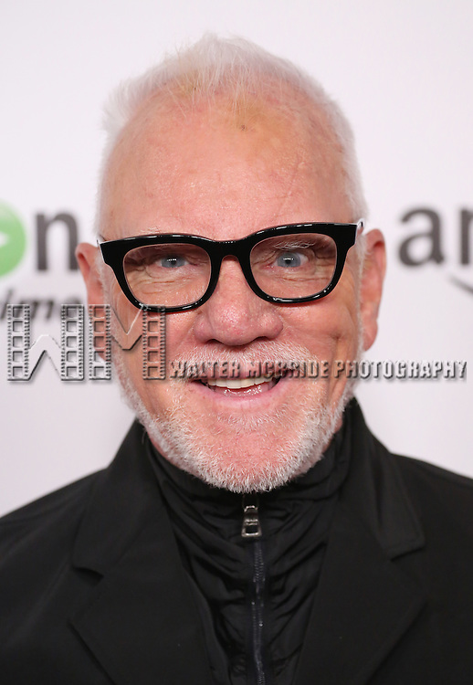 Malcolm McDowell attending the Amazon Red Carpet Premiere for 'Mozart in the Jungle' at Alice Tully Hall on December 2, 2014 in New York City.