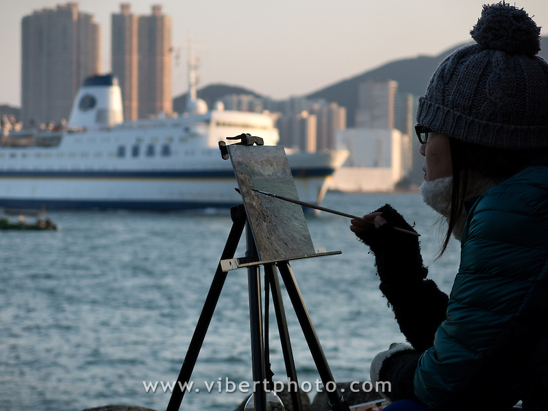 Hong-Kong, Chine, Asia, Asie, Lei Yue Mun (also called Lyemun, Lye Moon Passage or Ly-ee-moon Passage) is a short channel in Hong Kong, between Junk Bay and Victoria Harbour, separating Kowloon and Hong Kong Island. ???.