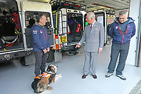 Prince Charles Visit to Langdale Ambleside Mountain Rescue Team