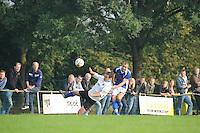 VOETBAL: NIJBEETS: 04-10-2015, Blue Boys - GVB, uitslag 3-1, ©foto Martin de Jong