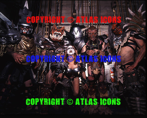 GWAR, BACKSTAGE, 1995, NEIL ZLOZOWER
