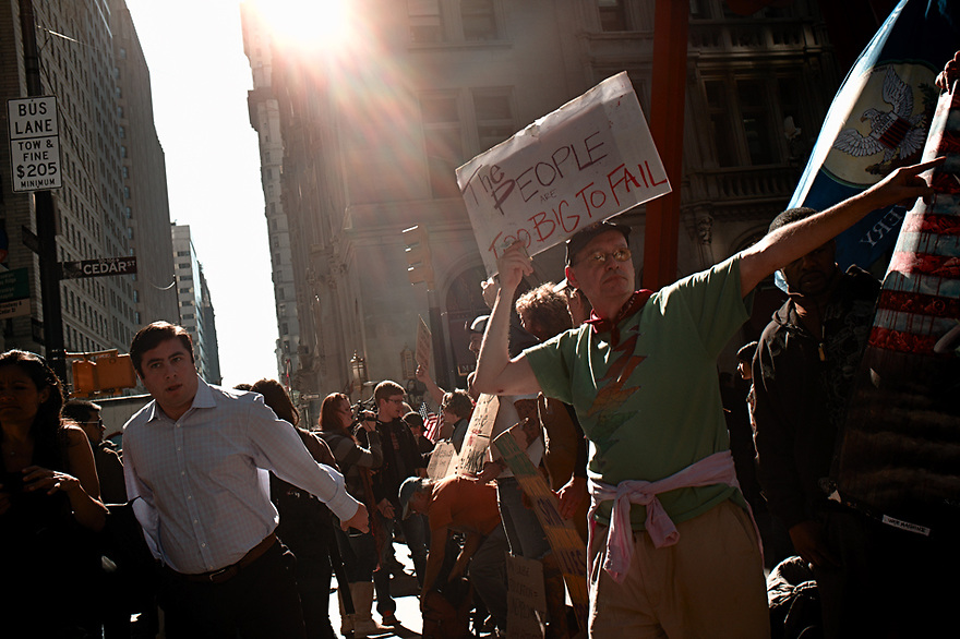 Photos from Occupy Wall Street Protests 2011