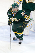 Chelsea Rapin (Vermont - 22) - The University of Vermont Catamounts defeated the Boston College Eagles 5-1 on Saturday, November 7, 2009, at Conte Forum in Chestnut Hill, Massachusetts.