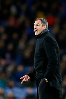 Swansea City manager Paul Clement during the Premier League match between Burnley and Swansea City at Turf Moor, Burnley, England, UK. Saturday 18 November 2017