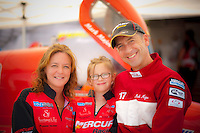 Mark Major (#17)and family.     (Formula 1/F1/Champ class)