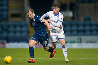 4th January 2020; Dens Park, Dundee, Scotland; Scottish Championship Football, Dundee FC versus Inverness Caledonian Thistle; Paul McGowan of Dundee goes past Aaron Doran of Inverness Caledonian Thistle  - Editorial Use