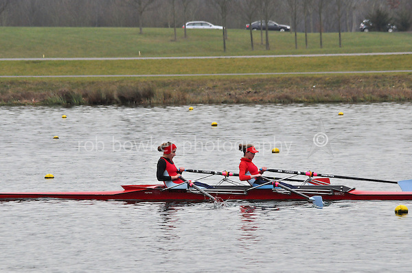510 WallingfordRC W.J16A.2x Walker..Marlow Regatta Committee Thames Valley Trial Head. 1900m at Dorney Lake/Eton College Rowing Centre, Dorney, Buckinghamshire. Sunday 29 January 2012. Run over three divisions.
