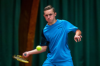 Wateringen, The Netherlands, December 4,  2019, De Rhijenhof , NOJK 14 and18 years, Kyvan Rietkerk (NED)<br /> Photo: www.tennisimages.com/Henk Koster