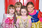 "Ruby Fawley, Lucy Ahern, Clodagh Swanser and Ciara O' Connor, some of the young actors in ""The Night Before Christmas"" at the parish hall Ballylongford on Sunday..   Copyright Kerry's Eye 2008"