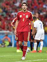 FUSSBALL WM 2014  VORRUNDE    Gruppe B     Spanien - Chile                           18.06.2014 Javi Martinez (Spanien) ist enttaeuscht