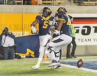 Berkeley, CA - November 28, 2015: The Cal Bears vs Arizona State Sun Devils at California Memorial Stadium in. Final score Cal Bears 48, Arizona State Sun Devils 46.