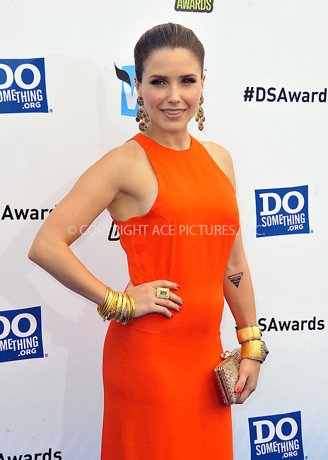 WWW.ACEPIXS.COM....August 19,2012, Santa Monica, CA.....Sophia Bush arriving at the 2012 Do Something Awards at Barker Hangar on August 19, 2012 in Santa Monica, California.........By Line: Peter West/ACE Pictures....ACE Pictures, Inc..Tel: 646 769 0430..Email: info@acepixs.com