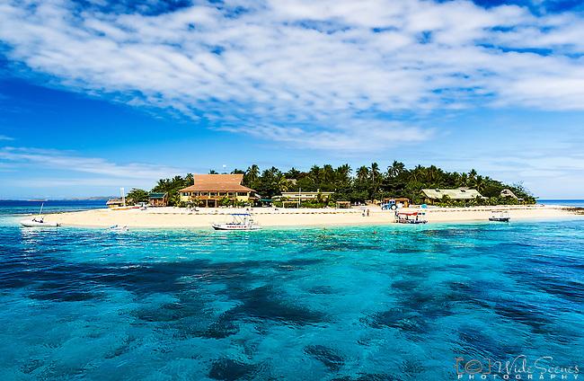 Beachcomber Island Resort in the Mamanuca Islands, Fiji