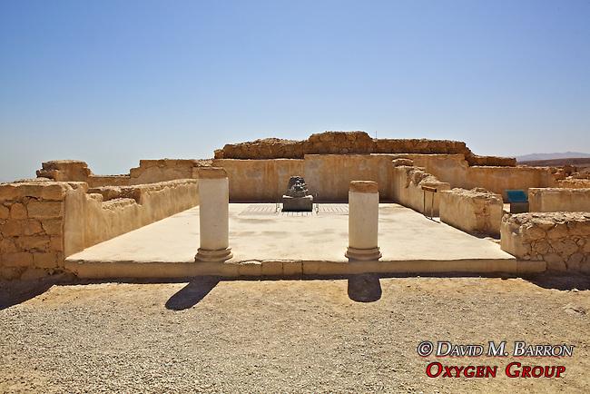 The Kings  Upper Terrace Of Masada