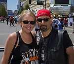 Tari and Al during the Great Eldorado BBQ, Brews and Blues Festival in Reno, Nevada on Saturday, June 16, 2018.