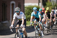 Multiple Flèche winner & current World Champion Alejandro Valverde (ESP/Movistar)<br /> <br /> 83rd La Flèche Wallonne 2019 (1.UWT)<br /> One day race from Ans to Mur de Huy (BEL/195km)<br /> <br /> ©kramon