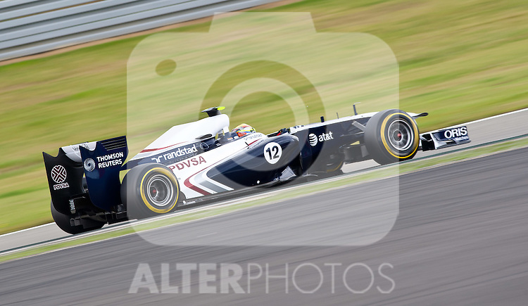23.07.2011, Nuerburgring, Adenau, GER, F1, Grosser Preis von Deutschland, Nürburgring, drittes freies Training , im Bild Pastor Maldonado (VEN), AT & T Williams // during Practice 3 at Formula One Championships 2011 German Grand Prix held at the Nuerburgring, Adenau, Germany, 23/7/2011, EXPA Pictures © 2011, PhotoCredit: EXPA/ J. Groder