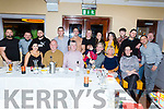 The staff of Bella Bia enjoying their party in Benners Hotel on Monday night.