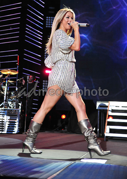 11 June 2010 - Nashville, Tennessee - Julianne Hough. 2010 CMA Music Festival Nightly Concert held at LP Field. Photo Credit: Laura Farr/AdMedia