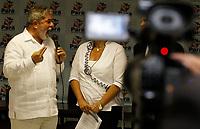 ESTAS FOTOS NAO PODEM SER VENDINDAS NO ESTADO DO PARÁ<br /> 06-05-2010-LULA-BELÉM-PA- A governadora Ana Júlia Carepa, o presidente Luís Inácio Lula da Silva e o prefeito de Anapú e presidente do Consórcio Belo Monte, durante a entrega da Carta Aberta de apoio a construção da Hidrelétrica de Belo Monte, na tarde desta quinta – feira (6), no auditório do Palácio dos Despachos.<br /> © TARSO SARRAF / DIARIO DO PARÁ / AE<br /> DATA: 06.05.2010<br /> BELÉM – PARÁ