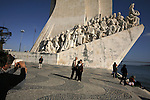 2007. Lisboa. Portugal..Monument to the discoverers..