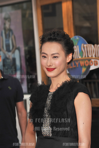 "Isabella Leong at the premiere of her new movie ""The Mummy: Tomb of the Dragon Emperor"" at Universal Studios, Hollywood..July 27, 2008  Los Angeles, CA.Picture: Paul Smith / Featureflash"