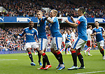Dean Shiels celebrates his goal