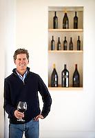 Winemaker Paul Hobbs in the tasting room of his winery in Sebastopol, Calif., on March 8, 2013. (Alvin Jornada / The Press Democrat)