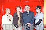 Mary Prendergast, Mary O'Shea, Colin O'Grady and Geraldine O'Grady enjoying the Milltown Credit Union 40th anniversary celebrations in Milltown Community hall on Friday night