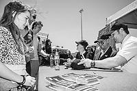 Bates Saddles signing opportunity and fabulous photo shoot with Gemma and Stuart Tinney and Shane Rose. 2019 AUS-Mitsubishi Motors Australian International 3 Day Event. Victoria Park. Adelaide. South Australia. Sunday 17 November. Copyright Photo: Libby Law Photography